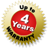 Up to 4 Years Warranty and full support on our LED displays