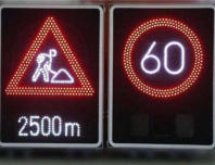 LED road , traffic overhead warning display VMS