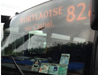 onboard bus LED display for boarding passengers