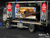 Bespoke LED Digital mobile Unit for Promotional events