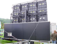 Outdoor Digital LED mobile trailer for events