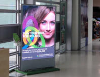 approx. 80'' LED screen with 3mm pixel pitch