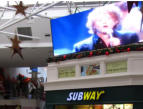 Our Rental Big Screen in the shopping centre Dublin