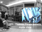Rental LED Digital Display in Eyre Square Shopping Centre in Galway on GTI - Fashion Fiesta 2011