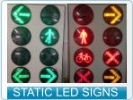 STATIC LED SIGNS