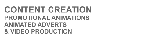 CONTENT CREATION PROMOTIONAL ANIMATIONS  ANIMATED ADVERTS  & VIDEO PRODUCTION