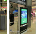 55'' Designer Double sided Digital Stands for DAA