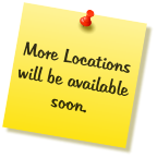 More Locations will be available soon.